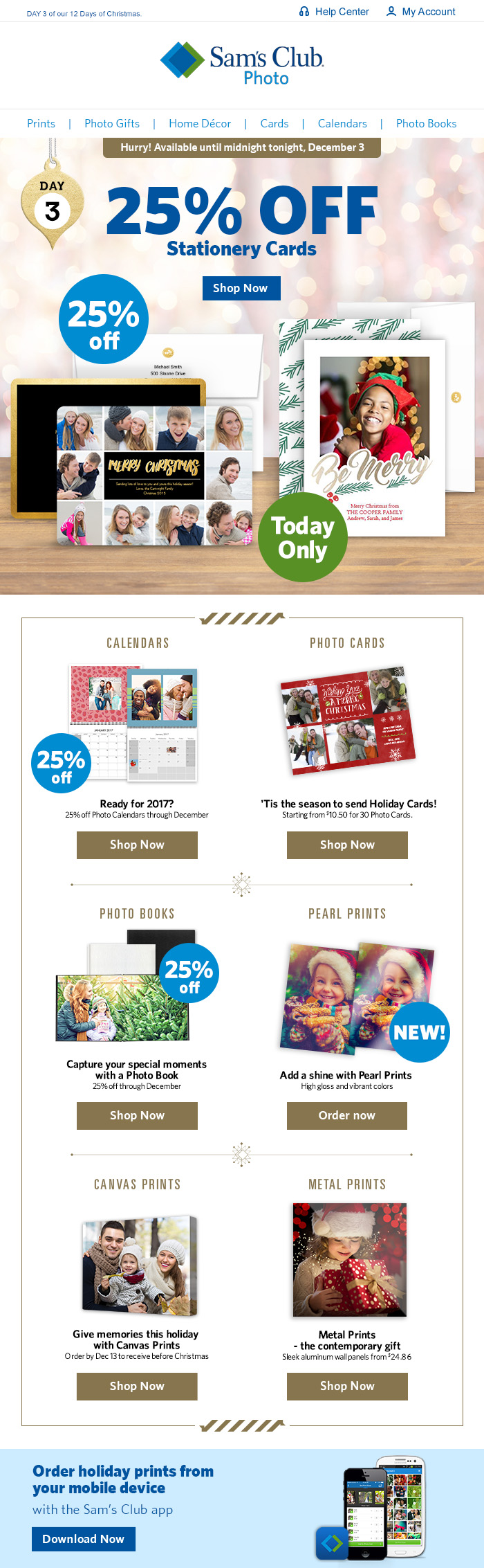 sams club christmas campaign